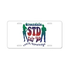 Greendale STD Fair Aluminum License Plate
