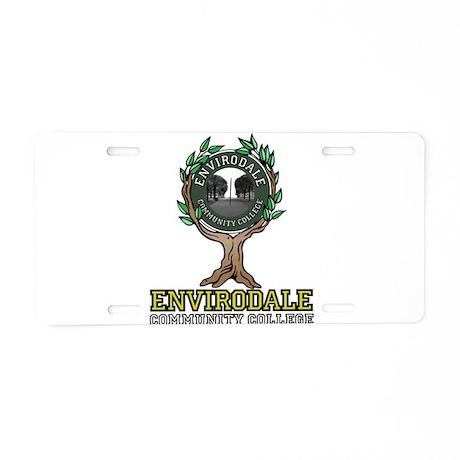 Envirodale Aluminum License Plate