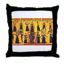 Madame Yucca Throw Pillow