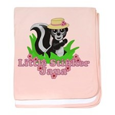 Little Stinker Jana baby blanket