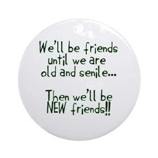 Friends Ornament (Round)