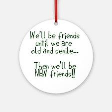 Friends Ornament (Round)