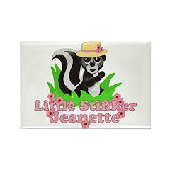 Little Stinker Jeanette Rectangle Magnet (100 pack