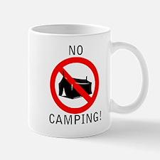 No Camping Mug