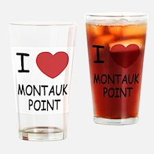 I heart montauk point Drinking Glass