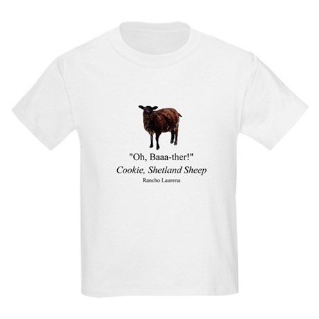 """Oh Baaa-ther!"" Kids T-Shirt"