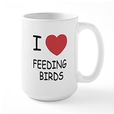I heart feeding birds Mug