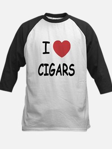 I heart cigars Kids Baseball Jersey