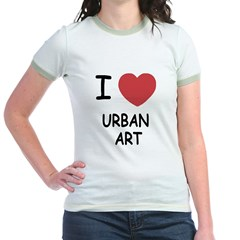 I heart urban art T