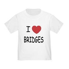 I heart bridges T
