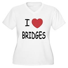 I heart bridges T-Shirt