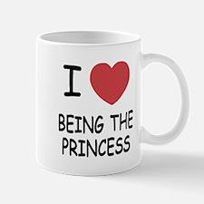 I heart being the princess Mug