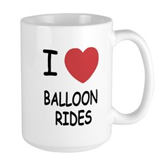 I heart balloon rides Mug