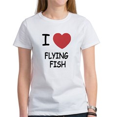 I heart flying fish Tee