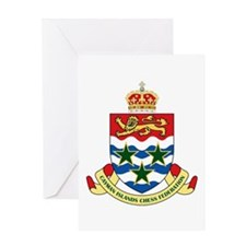 Cayman Islands Chess Greeting Card
