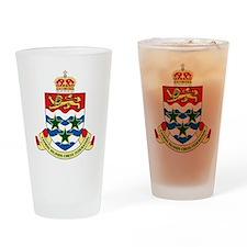 Cayman Islands Chess Drinking Glass