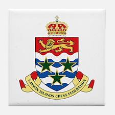 Cayman Islands Chess Tile Coaster
