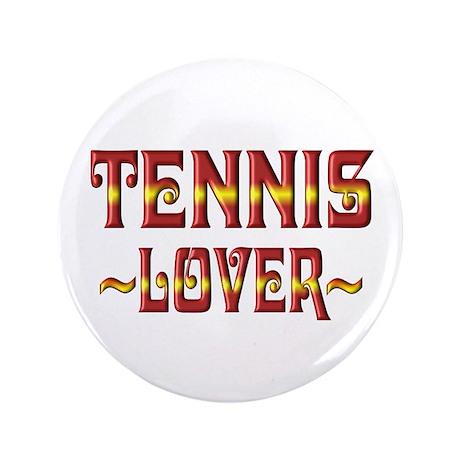 "Tennis Lover 3.5"" Button (100 pack)"
