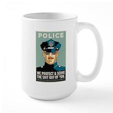 Police Protect & Serve Mug