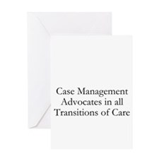 Case Management Advocates Greeting Card