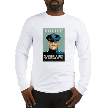 Police Protect & Serve Long Sleeve T-Shirt