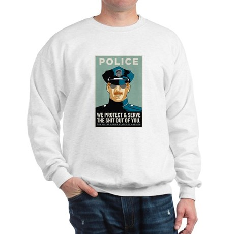 Police Protect & Serve Sweatshirt