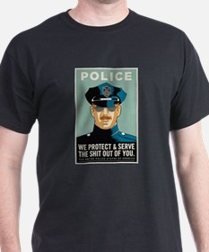 Police Protect & Serve T-Shirt
