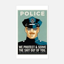 Police Protect & Serve Decal