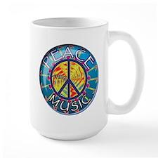 Peace thru Music Mug