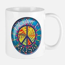 Peace thru Music Mug