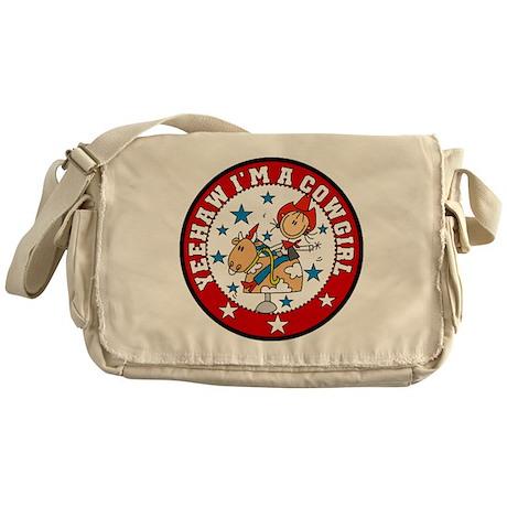 Yeehaw Cowgirl Messenger Bag