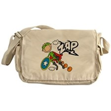 ZAP Boy Hero Messenger Bag