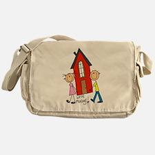 House We're Moving Messenger Bag