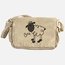 Baa Sheep Messenger Bag