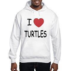 I heart turtles Hoodie