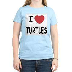 I heart turtles T-Shirt