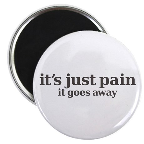 it's just pain, it goes away Magnet