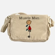 Muscle Man Messenger Bag