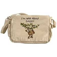 Wild About Daddy Messenger Bag