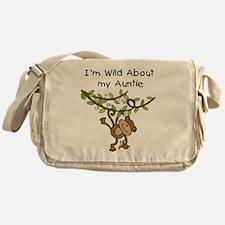 Wild About Auntie Messenger Bag