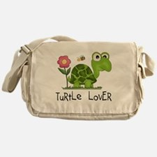 Turtle Lover Messenger Bag
