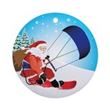 Kiteboarding ornament Ornaments