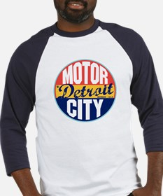 Detroit Vintage Label Baseball Jersey