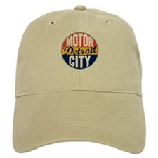 Detroit Vintage Label Baseball Cap