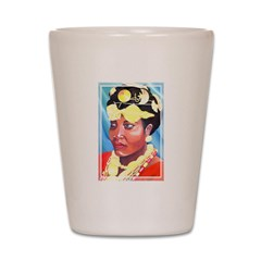 Cote d'Ivorie Paintings Shot Glass