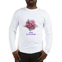 Aunt of the Bride Long Sleeve T-Shirt