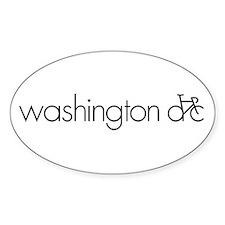 Bike Washington DC Decal
