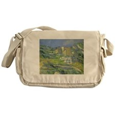 Houses in Provence by Cezanne Messenger Bag