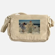 Alma Tadema Ask Me No More Messenger Bag