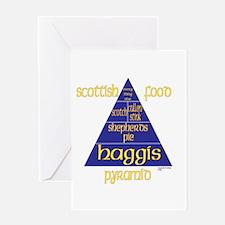 Scottish Food Pyramid Greeting Card
